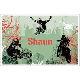 Extreme Sports Personalized Placemat (each)