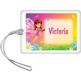 Fairy Birthday Party Personalized Bag Tag (each)