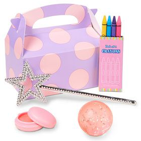Fairy Party Filled Favor Box (4-Pack)
