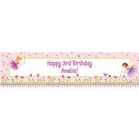 Fairy Party Personalized Banner (each)