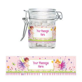 Fairy Party Personalized Glass Apothecary Jars (12 Count)