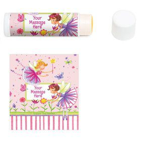 Fairy Party Personalized Lip Balm (12 Pack)