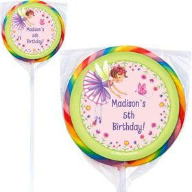 Fairy Party Personalized Lollipops (pack of 12)