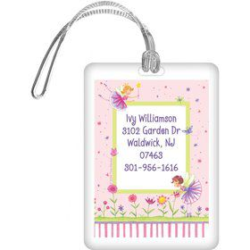 Fairy Party Personalized Luggage Tag (each)