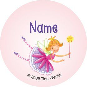 Fairy Party Personalized Mini Stickers (Sheet of 20)