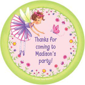 Fairy Party Personalized Stickers (sheet of 12)