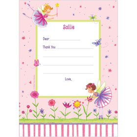Fairy Party Personalized Thank You Note (each)