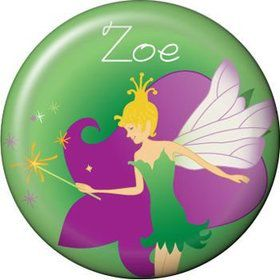 Fairy Personalized Mini Button (each)