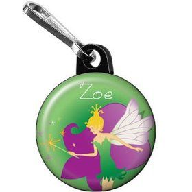 Fairy Personalized Mini Zipper Pull (each)