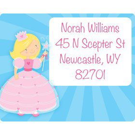 Fairytale Princess Personalized Address Labels (Sheet of 15)