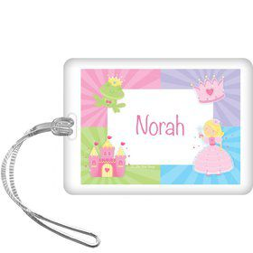 Fairytale Princess Personalized Bag Tag (each)