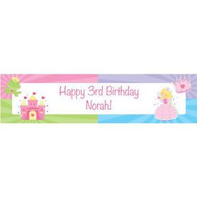 Fairytale Princess Personalized Banner (each)