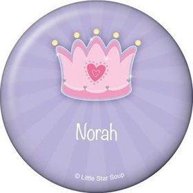 Fairytale Princess Personalized Button (each)