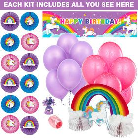 Fairytale Unicorn Decoration Kit