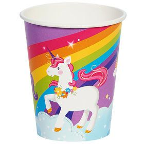 Fairytale Unicorn Party 9oz Paper Cup