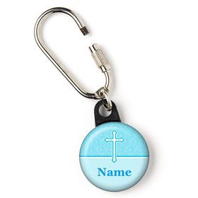 "Faith Blue Personalized 1"" Carabiner (Each)"