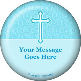 Faith Blue Personalized Magnet (Each)