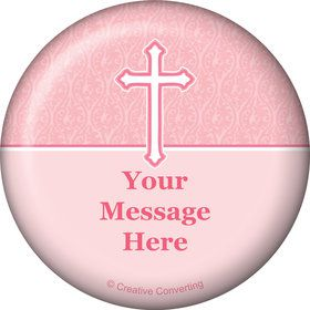 Faith Pink Personalized Magnet (Each)