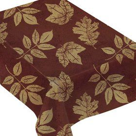 Fall Elegance Table Cover (Each)
