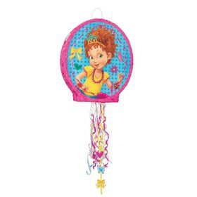 Fancy Nancy Shaped Pull String Pinata