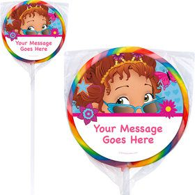 "Fancy Party Personalized 3"" Lollipops (12 Pack)"