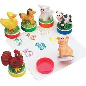 Farm Animal Stamper (12 pack)