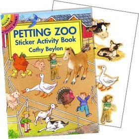 Farm Animals Sticker Book (each)