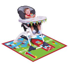 Farm House 1st Birthday High Chair Kit