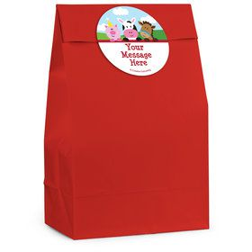 Farmhouse Fun Personalized Favor Bag (12 Pack)