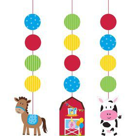"Farmhouse Hanging Cutout 30"" Decorations (3 Piece)"