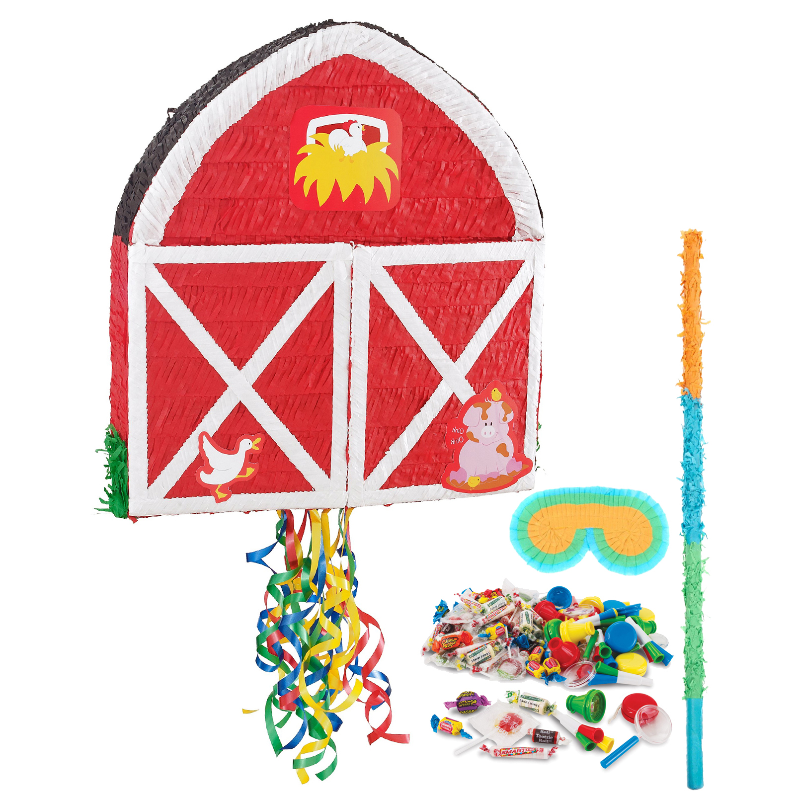 Farmhouse Pull String Economy Pinata Kit BBPK211BG