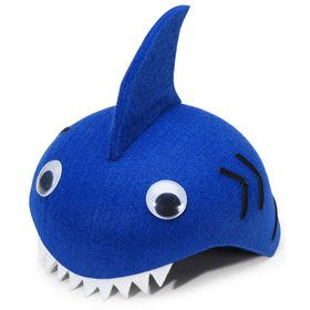 Felt Shark Child Hat One-Size