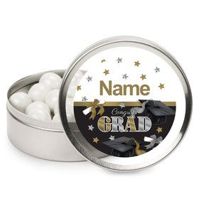Festive Graduation Personalized Mint Tins (12 Pack)