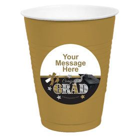 Festive Graduation Personalized Party Cups