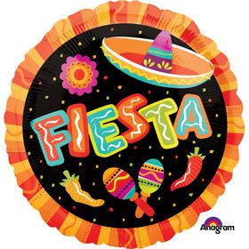 "Fiesta Fun 17"" Balloon (Each)"