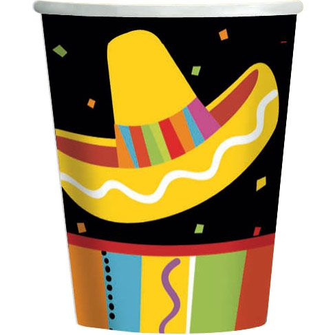 Fiesta Fun 9Oz Cups (8 Pack) BB589820
