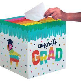 Fiesta Fun Grad Card Box