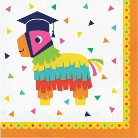 Fiesta Fun Grad Lunch Napkins (16)