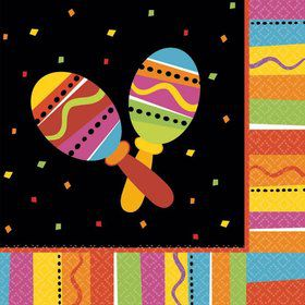 Fiesta Fun Luncheon Napkins (16 Pack)