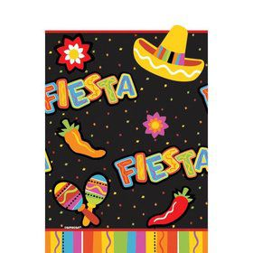 Fiesta Fun Paper Table Cover (Each)
