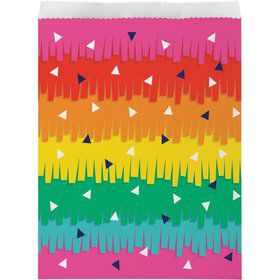 Fiesta Fun Paper Treat Bags (10)