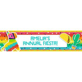 Fiesta Fun Personalized Banner