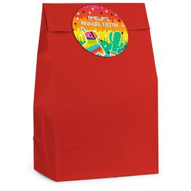 Fiesta Fun Personalized Favor Bag