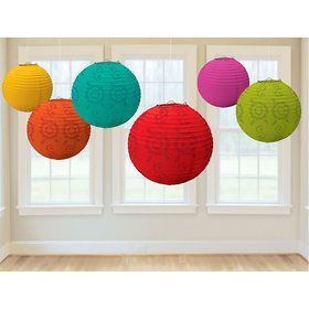 Fiesta Lantern Decorations (6 Count)