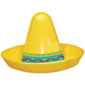 "Fiesta Mini Sombrero 2.5"" Assorted (8 Pack)"