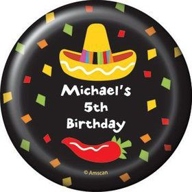 Fiesta Party Personalized Magnet (each)