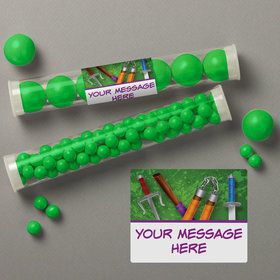 Fighting Turtles Personalized Candy Tubes (12 Count)