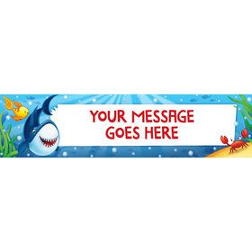Fin Fun Personalized Banner (Each)