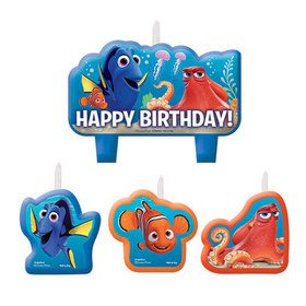 Finding Dory Birthday Candle Set (4 Candles)