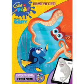Finding Dory Coloring Book (32 Pages)